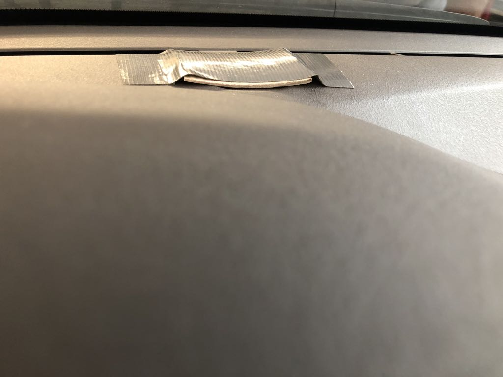 Sensor Cover on dashboard
